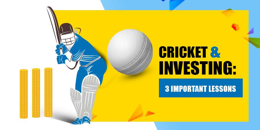 The gentleman's game, cricket, is not just good for exercise and excitement - it also offers a lot of good tips that can help you become a better mutual fund investor